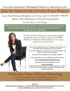 Democratic Vistas 4.17 EVENT Flyer.pages